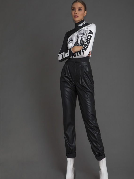 W18102 A KYOTO LEGEND BODYSUIT-W18512 FOXY PANTS