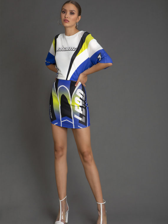 W18206 ADRENALIN RACE TOP-W18301C LEAD SKIRT