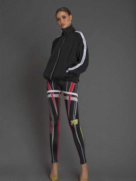 W18806 GHETTO JACKET-W18501C 79'ERS LEGGINGS