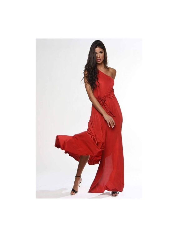 one-shoulder-maxi-red-dress-mixandmatchshowroom1